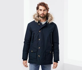 Men's Parka, Blue
