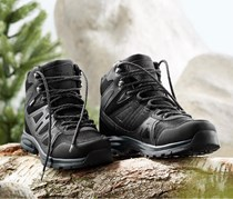 Men's Trekking Shoes, Black Anthracite