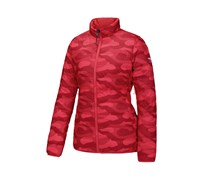Adidas Women's Reversible Fashion Sports Jacket, Camouflage Red