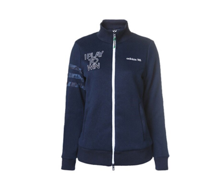 Adidas  Women's Knitted Jacket, Navy