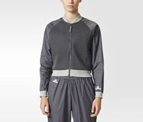 Adidas Women's Barricade Jacket, Granite