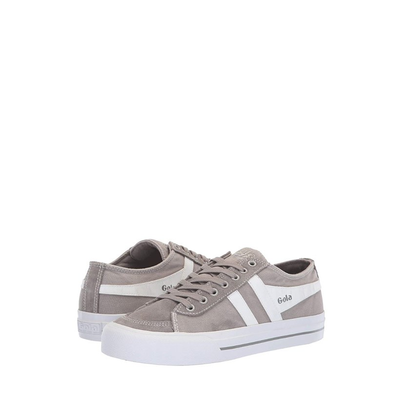 Women's Quota II Sneakers, Light Grey/White