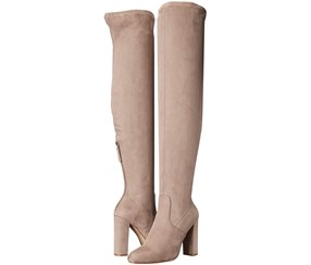 Steve Madden Women's Emotions Over The Knee Boot, Taupe