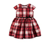 Carter's Baby Girl's Dress, Red