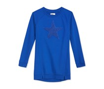 Epic Threads Chennile Star Long-Sleeve Shirt, Lazulite Blue