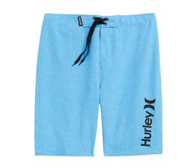 Hurley Boy's One And Only Dri-Fit Board Shorts, Blue