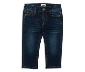 Hudson Baby Parker French Terry Jeans, Navy