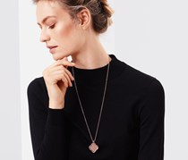 Women's Necklace, Rose Gold