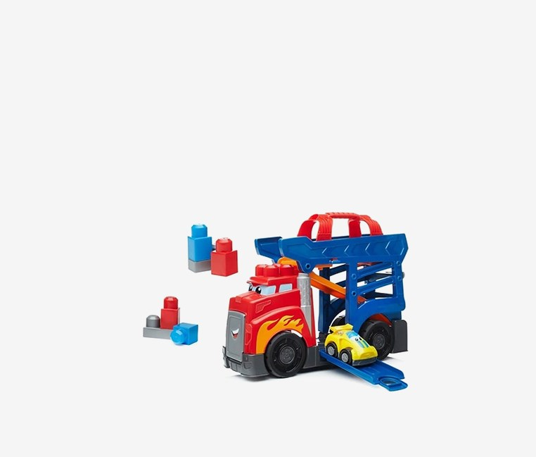 Fast Tracks Racing Rig, Red/Blue