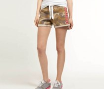 Superdry Women's Label Easy Shorts, Ejector Camo