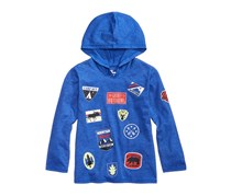 Epic Threads Toddler Wilderness Patch Hoodie, Lazulite