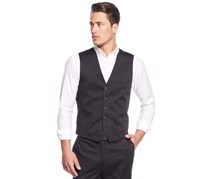 INC International Concepts Men's Slim-Fit Truman Vest, Black