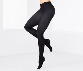 Women's Tights Set of 2, Dark Grey/Dark Blue