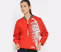 Adidas Women Long Sleeve Jackets, Red