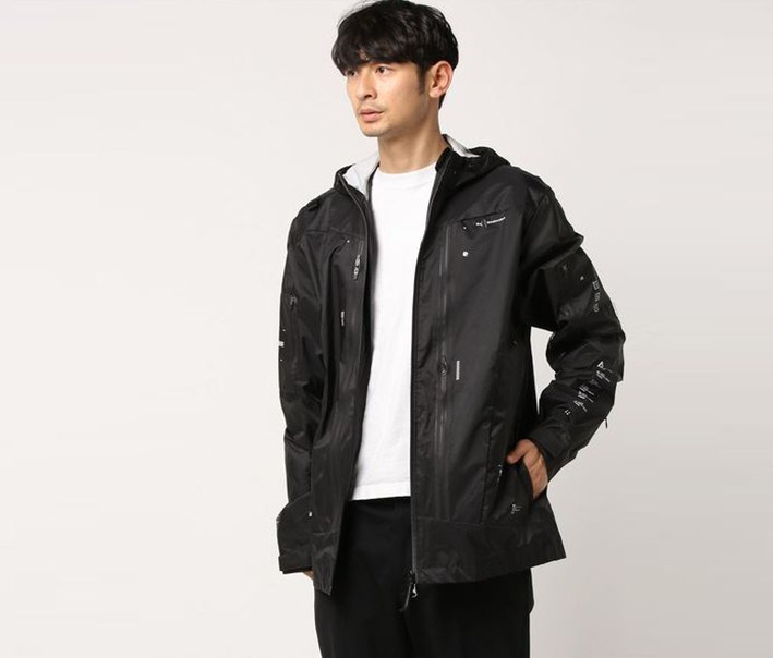 Men's Woven Jacket, Black