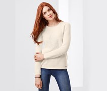 Women's Pullover Sweater, Offwhite