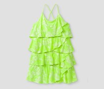 Cat & Jack Baby Girl's A Line Dresses, Lime Green