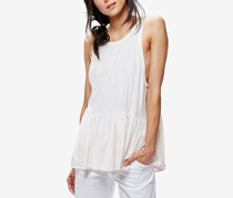 Free People Women's Cantina Peplum Tank Top, White