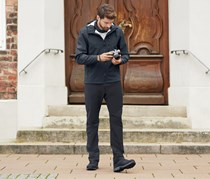 Men's Softshell Trousers, Anthracite