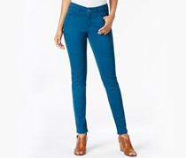 Curvy-Fit Skinny Jeans, Rich Teal