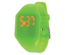 Blink Time Mini Unisex Band Watch, Lime Green