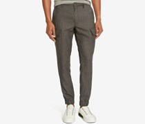 Kenneth Cole Reaction Men's Cargo Jogger Pants, Grey