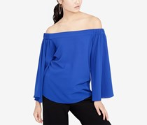 Rachel Roy Off-The-Shoulder Top, Cobalt Blue