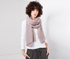 Women's Woven Scarf, Rose
