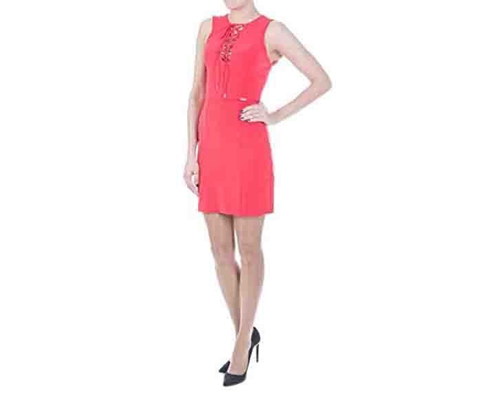 Women's Aura Dress Rojo, Red