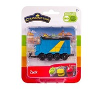 Chuggington Stacyjkowo Train Zack Blister, Blue
