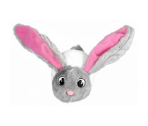 Bunnies Bunny Rabbit Plush Magnetic Hanging, White/Grey