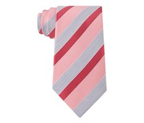 Geoffrey Beene Men's Stripe of the Moment Tie, Rose