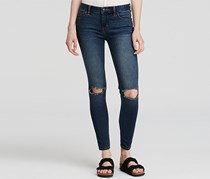 Free People Women's  Destroyed Skinny Jeans, Josie