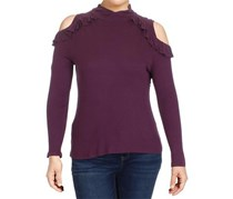 Maison Jules Women's Cold-Shoulder Top, Savory