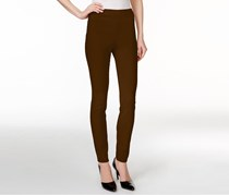 Petite Tummy Comfort Leggings, Rich Truffle