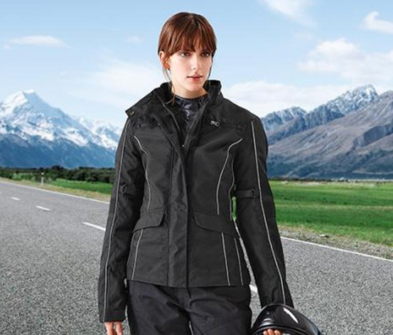 Women's Bikers Jacket, Black