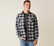Flag & Anthem Men's Flannel Jacket, Black/White