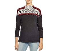 Free People Snowbunny Sweater, Black Combo