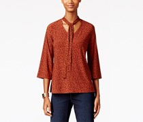 Style & Co. Women's Blouse, Brown