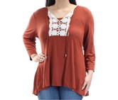 Style & Co. Women's Tops, Brown