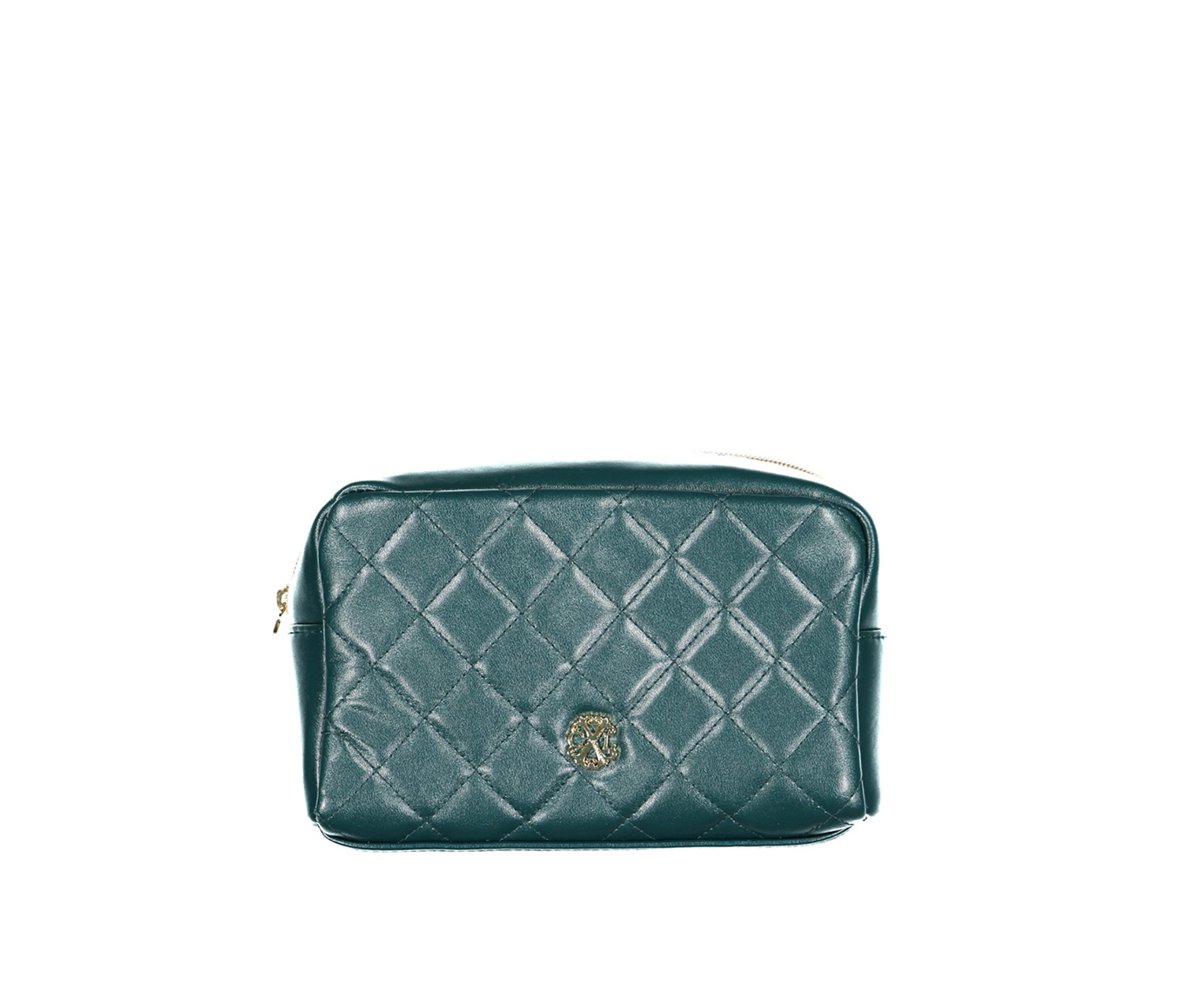 Christian Lacroix Quilted Voyager Cosmetic Kit, Teal