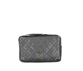 Christian Lacroix Quilted Voyager Cosmetic Kit, Dark Gray