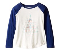 Roxy Cotton Graphic-Print T-Shirt, Blue Depths