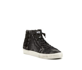 Vintage Havana Scarpetta High-Top Sneaker, Washed Black Denim