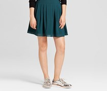 A New Day Women's Pleated Midi Skirt, Country Clover