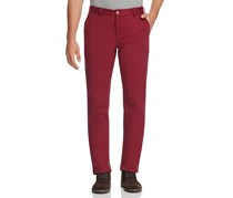 Vineyard Vines Men's 'Breaker' Slim Fit Cotton Twill Pants, Crimson