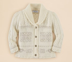Ralph Lauren Girl's Sweater, Cream
