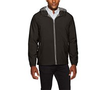Weatherproof Garment Co. Men's Hooded Ultra Stretch Jacket, Black