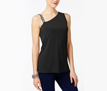 Inc International Concepts One-Shoulder Top, Black