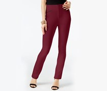 INC International Concepts Curvy-Fit Pants,  Dark Mahogany